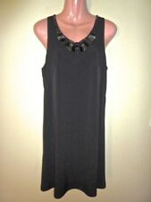 NEW Suzi Chin for Maggy Boutique Black Beaded Cocktail Dress 10