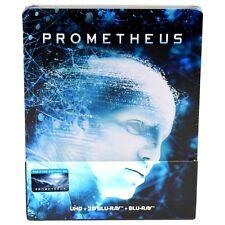 PROMETHEUS 4K UHD + 3D BLU-RAY STEELBOOK EDITION #5A FILMARENA NEW & SEALED