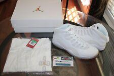 Deadstock Air Retro Jordan 10 X Drake OVO Pack White Gold Shirt Size XL Size 11