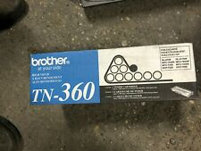 NEW BROTHER TN-360 High Yield Genuine Black Toner Print Cartridge NO BOX
