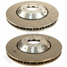 For Porsche Cayenne Turbo S GTS Pair Set of 2 Front Vented Disc Brake Rotor OEM