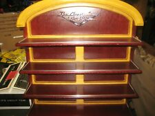 Franklin Mint Classic Cars of the Fifties Wall Wood Display Shelf Rack