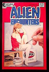 Alien Encounters (Eclipse, 1985 Series) #10 Dec-1986 [5BF] FN
