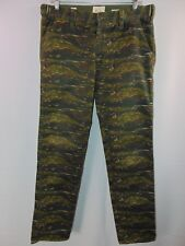 Koto Urban Outfitters Skinny Camouflage Pants Men's 32 Casual Camo Cotton Blend