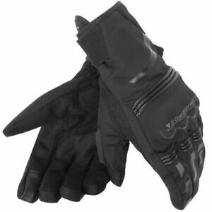 Dainese Tempest D-Dry Short Gloves Black Motorcycle Gloves XXL
