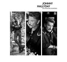 """JOHNNY HALLYDAY """"DES RAISONS D'ESPERER"""" 45 TOURS TRANSPARENT DISQUAIRE DAY 2016"""
