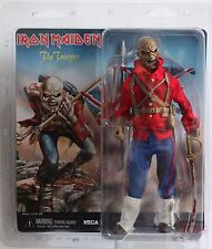 "NECA EDDIE THE TROOPER CLOTHED Iron Maiden Retro Style 8"" INCH 2014 FIGURE"