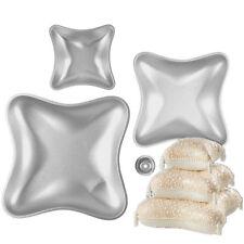 New 3 Pillow Shape Large Aluminium Alloy Mold Cake Baking Tools Baking Pan Mould
