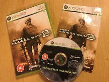 XBOX 360 (ahora con efecto retroactivo) JUEGO PARA ONE Call of Duty Modern Warfare 2 MW2 Completo