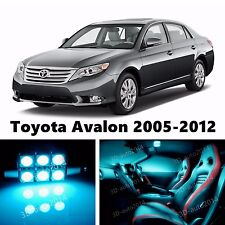 18pcs LED ICE Blue Light Interior Package Kit for Toyota Avalon 2005-2012