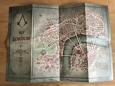 Assassins Creed Edicion sindicato Big Ben Mapa Cartel De Doble Cara