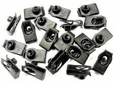 Extruded U-Nuts For Nissan- M6-1.0mm Thread- 13.5mm Center To Edge- Qty.20- #197