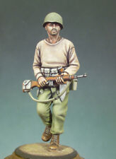 ANDREA MINIATURES S5-F16 - U.S. MARAUDER (BURMA, 1944) - 54mm WHITE METAL