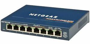 Netgear GS108, Full duplex