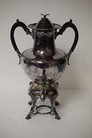 Antique Victorian Wilcox, Meriden, Silver Plated Samovar / Urn / Coffee Pot