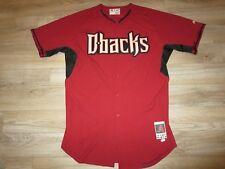 5b93b40d5 Arizona Diamondbacks  60 Lalli Majestic Game Used Worn MLB Jersey 48