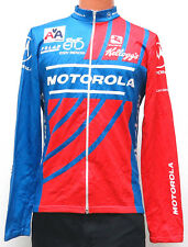 vtg MOTOROLA EDDY MERCKX Cycling Jersey L/XL 90s Giordana American Airlines rare