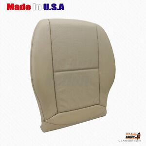 2011 2012 Mercedes Benz C250 C300 C350 SPORT Driver Bottom Vinyl Seat Cover Tan