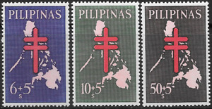 Philippines 1963 Fight Against Tuberculosis Complete Set - MNH