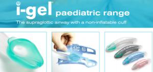 Set of Child - I GEL SUPRAGLOTTIC AIRWAY paediatric Sizes 1, 1.5,2 & 2.5