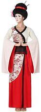 Déguisement Femme Geisha X/S 36/38 Costume Chinois Adulte Chinoise Japonaise