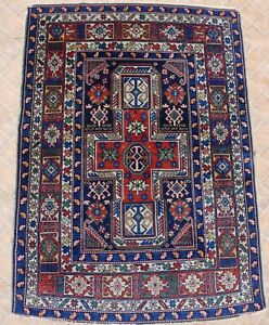An antique Kuba or Derbend Shield rug