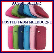 Passport Wallet Document Holder Organizer 7 Colours Melbourne SELLER Fast POSTAG