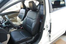TOYOTA PRIUS V 2012-2014 IGGEE S.LEATHER CUSTOM SEAT COVER 13 COLORS AVAILABLE