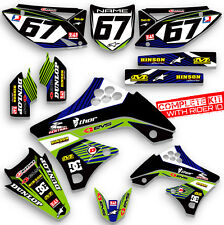 2009 2010 2011 KXF 450 GRAPHICS KIT KAWASAKI KX450F KX F 450F MX  DECO DECAL