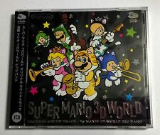 NEW Super Mario 3D World Original Sound Track CD JAPAN Club Nintendo Soundtrack