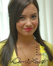 "Demi Lovato 8""x 10"" Nice Signed Color PHOTO! REPRINT"