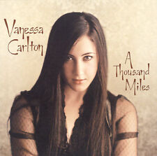 VANESS CARLTON  - A Thousand Miles ENHANCED CD  FREE 1ST CLASS SHIPPING!!!!!