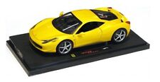 "Ferrari 458 Italia ""Giallo"" 2009 (Mattel 1:43 / P9954)"