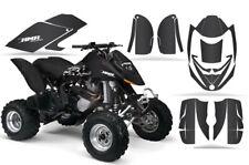 Atv Gráficos Kit Pegatina Para Can-Am DS650 2008-2015 Carbono Fibra Negro