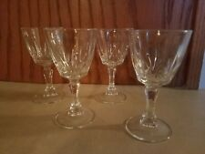 Set Of 4 Sherry/Cordial Glasses