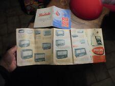 Ancienne Philips Poste Ancien Autoradio Tourne Disque Radio-Réveil 1957 Radiola