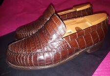 MOCASSIN J M WESTON 180 CROCODILE 7,5 E