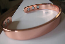 Pure Copper Magnetic Bracelet Arthritis Men Women Energy CUFF SALE NEW