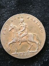 1793  CONDER HALFPENNY  TOKEN-   DH244-  LADY GODIVA  WARWICKSHIRE  COVENTRY