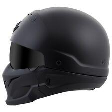 Scorpion Exo Covert Half Shell Helmet Matte Black New Size XL