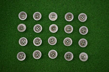 Original German WW2 Zeltbahn Dish Buttons (set of 10)