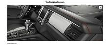 Porsche 95B Macan Interieur-Paket Innenausstattung Dekor Aluminium gebürstet