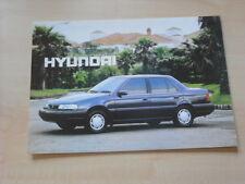 54184) Hyundai Pony Ungarn Prospekt 199?