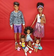 Barbie Doll Baby Sitter Chelsea African American Fashionista Baby Family Bundle