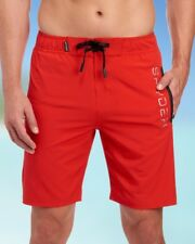 SPYDER Mens Red Board Shorts Fully Lined Bathing Suit NWT $70 Size S