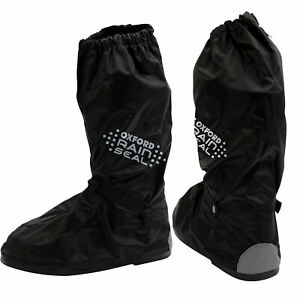 Oxford Bone Dry Rainseal Waterproof Motorcycle Scooter Over Boots All sizes