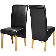 Chaises noires modernes pour la cuisine