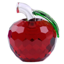 3D Red Glass Crystal Apple 40mm Vintage Collection Wedding Valentine's Day Gift
