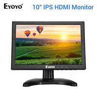 """Eyoyo 10"""" Inch IPS HDMI Monitor 1280x800 BNC/VGA/AV input 178 degree for Camera"""