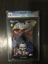 DETECTIVE COMICS #1 / RETAILER INCENTIVE EDITION / New 52! / CGC 9.8 /April 2012